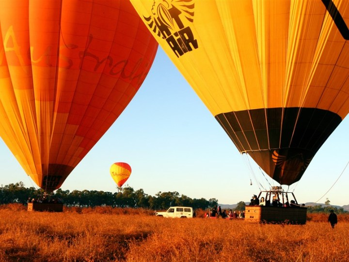18. Hot Air Balloon Scenic Rim