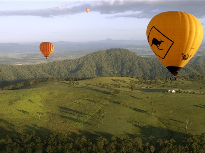 19. Hot Air Balloon Scenic Rim